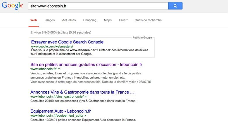 Résultats naturel France concernant la requête site:www.leboncoin.fr