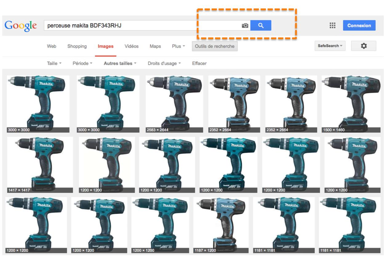 Duplicate content détecté grâce à Google Images