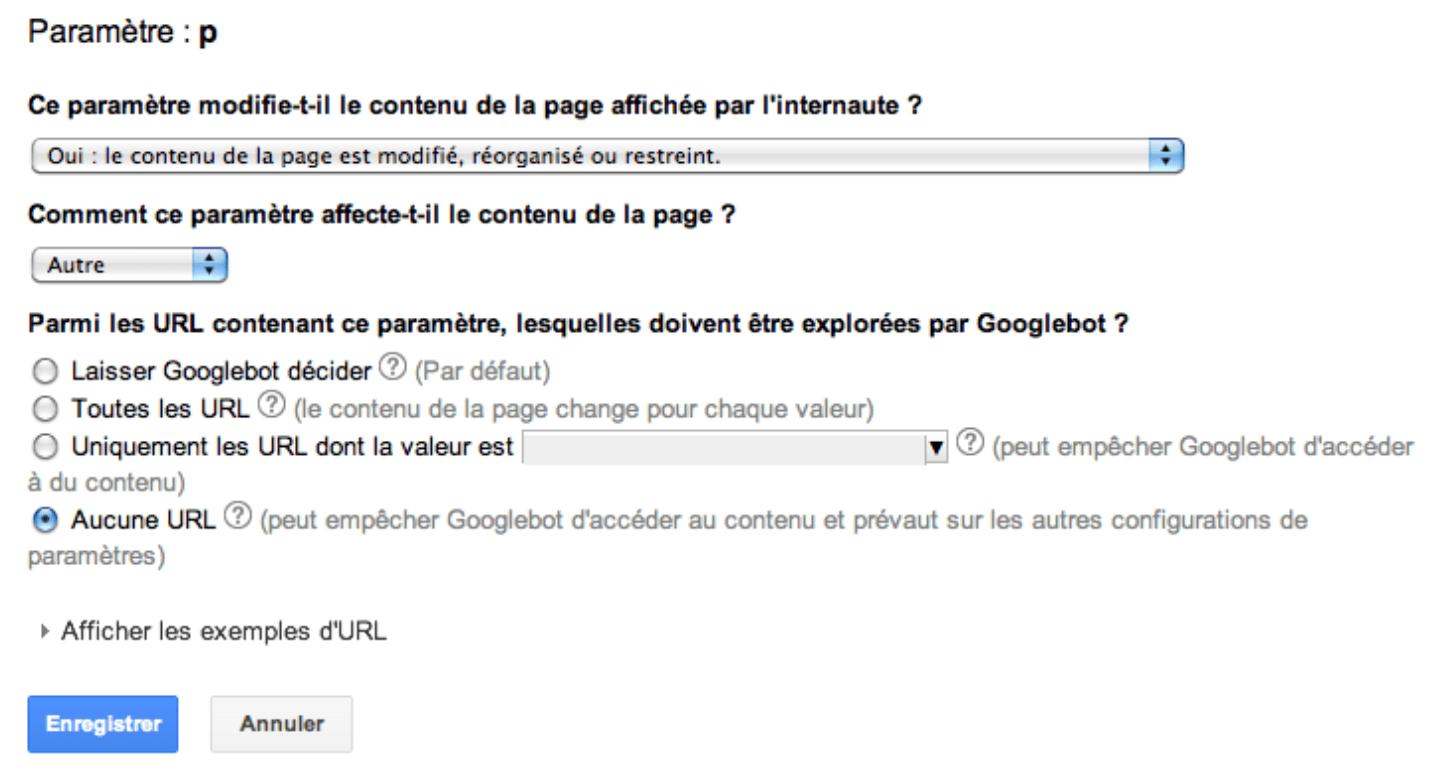 Interdire le crawl des pages aux Googlebots