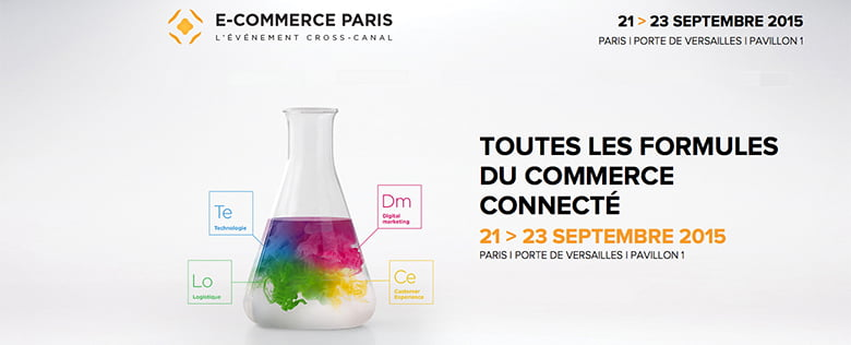 Salon e-commerce 2015 à Paris du 21 au 23 septembre 2015