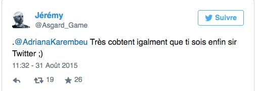 Adriana Karembeu et son tweet raté