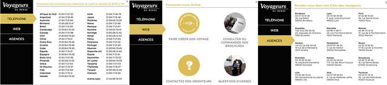 Demande de contact pour un devis de voyage sur Voyageursdumonde.fr