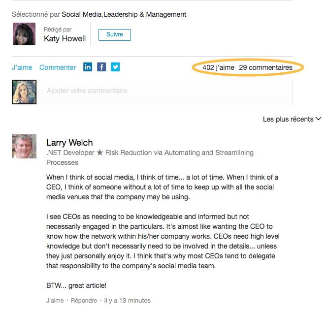 Pulse, l'agrégateur de contenus sur LinkedIn