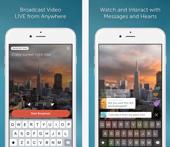 Persicope, l'application mobile de vidéos streaming sur Twitter