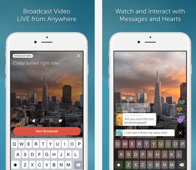 Persicope, l'application mobile de vidéos streaming sur Twitter