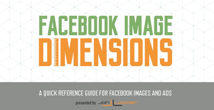 Les formats d'images pour Facebook Ads.