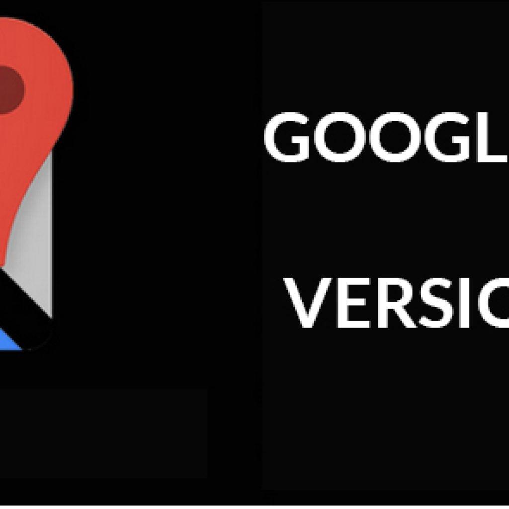 Mise à jour Google Maps