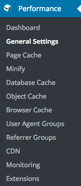 Plug-in W3 Total Cache