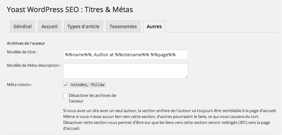 Optimiser le SEO d'un wordpress.
