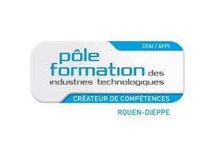 Logo CFAI (Pôle Formation des Industries Technologiques Rouen et Dieppe)