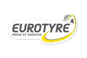 Logo Eurotyre : le spécialiste des pneus pour véhicules de grandes marques