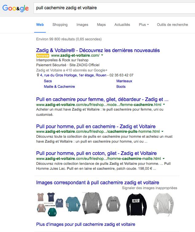 Référencement dans Google Images