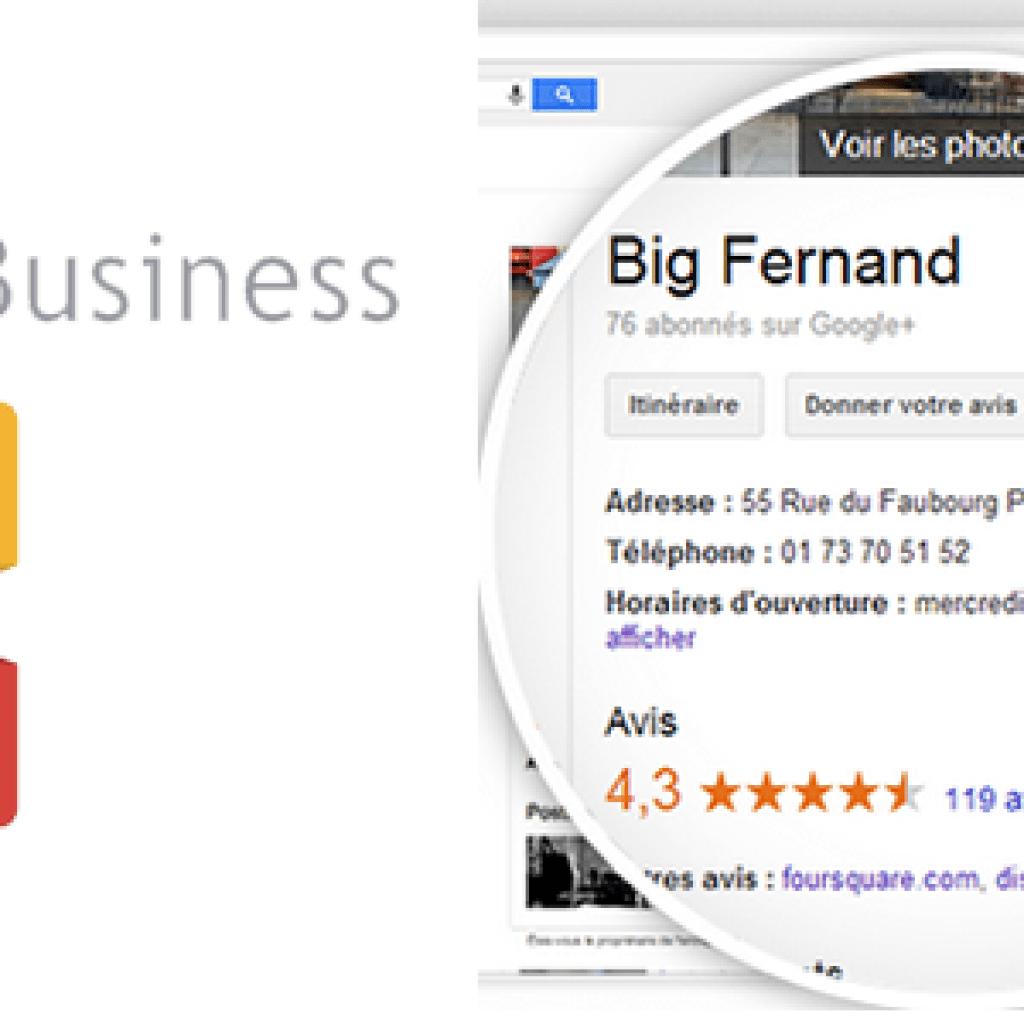 google my business, un atout pour votre référencement local