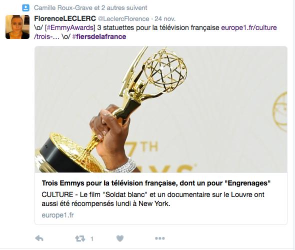 Hashtag inapproprié pour l'hommage de Paris