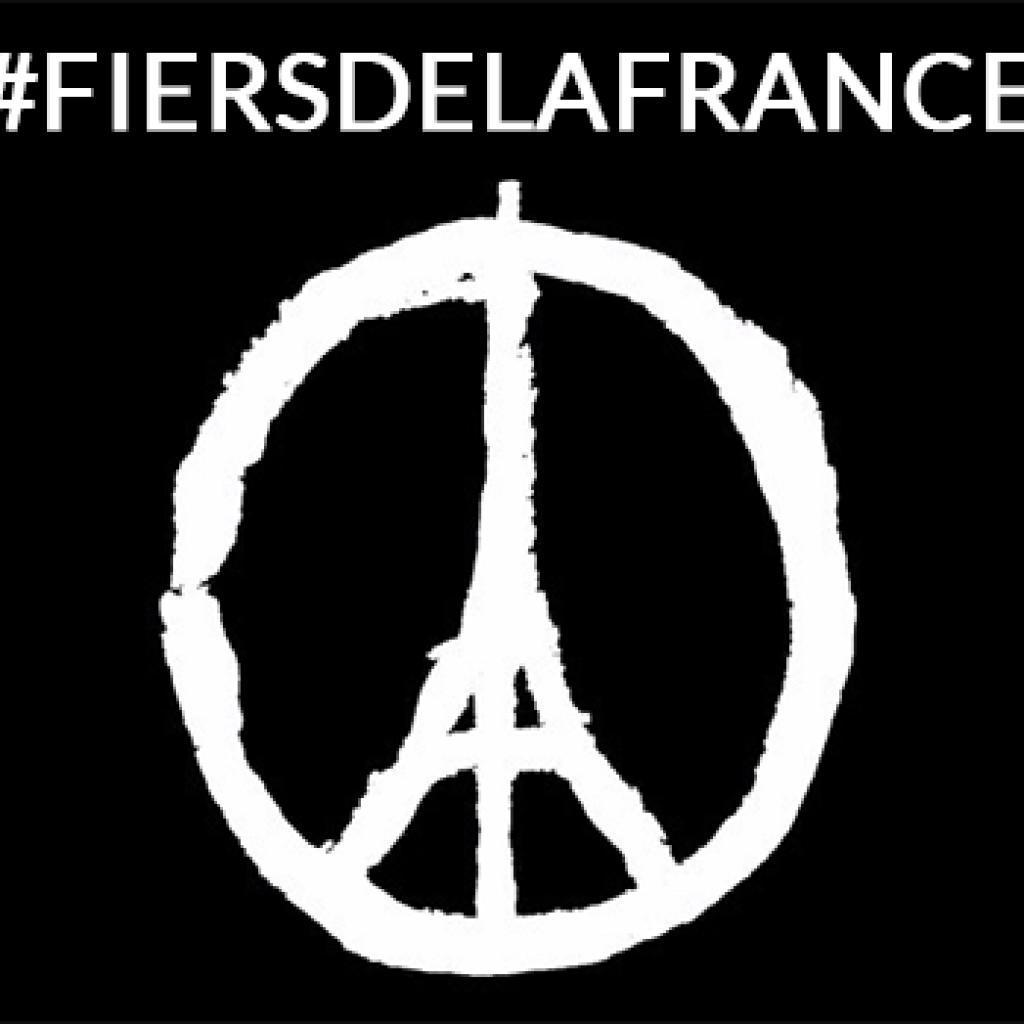 Hommage national sur les réseaux sociaux : Fiers de la France