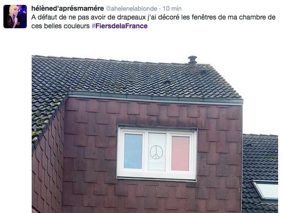 Hommage national des Français sur les réseaux sociaux