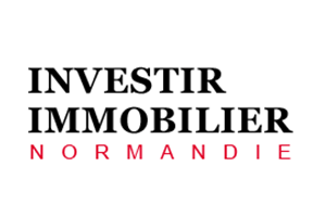 Logo Investir Immobilier Normandie : filiale du promoteur Sogeprom
