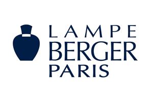 Logo Lampe Berger : entreprise qui fabrique et commercialise des parfums d'intérieur