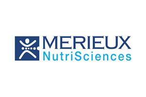Logo Mérieux NutriSciences : protection de la santé des consommateurs dans le monde entier