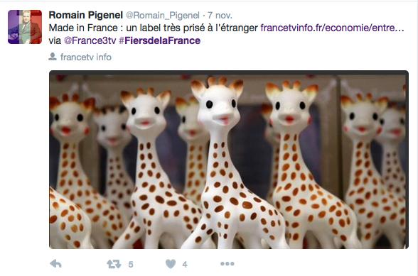 """L'utilisation du hashtag """"FiersdelaFrance"""" fait polémique"""