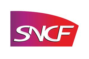 Logo SNCF (Société nationale des chemins de fer français)