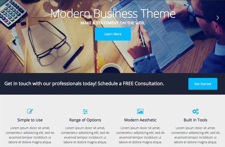 Personnalisation d'un site web grâce aux thèmes WordPress