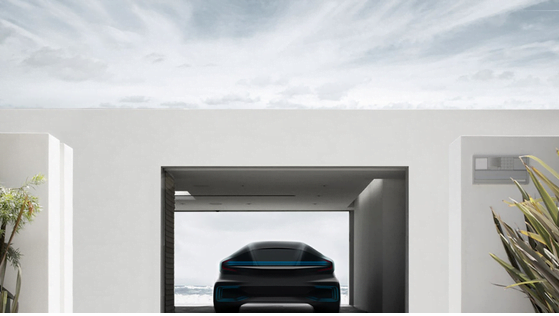 Future voiture Faraday