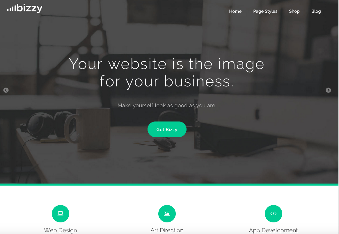 Thème Business WordPress