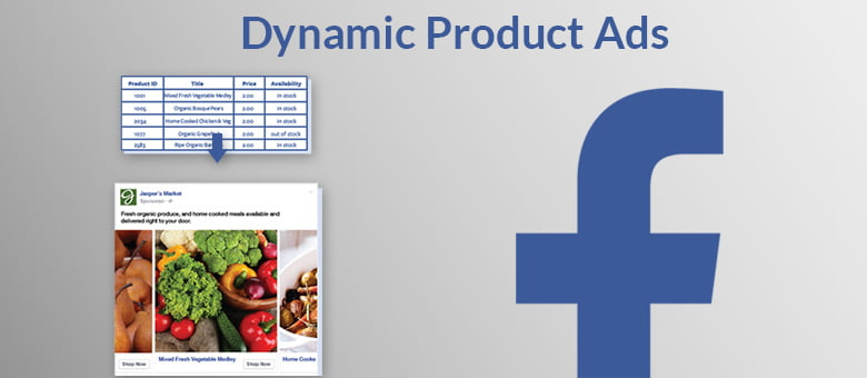 Facebook Ads : Dynamic Product Ads.