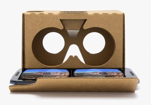 Google Cardboard : expérience de réalité virtuelle