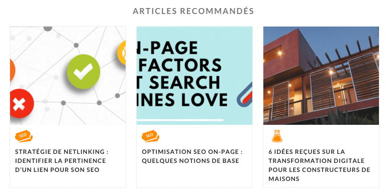 Recommendation Engine pour WordPress
