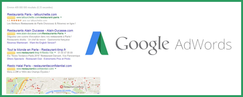 Suppression des annonces en sidebar par Google AdWords