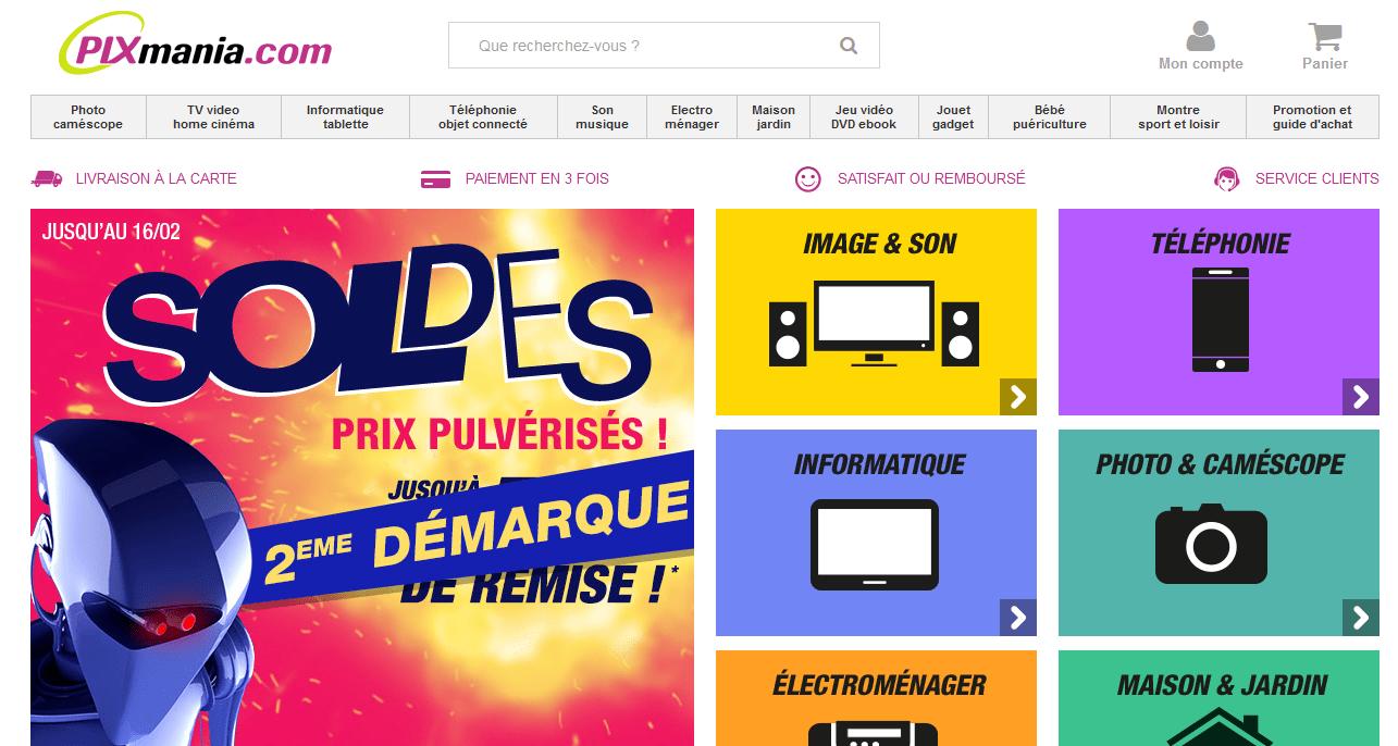 pixmania-page-accueil