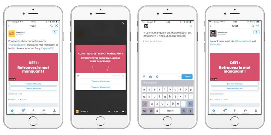 Twitter conversational ads : nouveau format de tweet sponsorisé