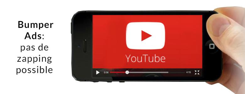Bumper Ads : nouveau format publicitaire sur Youtube