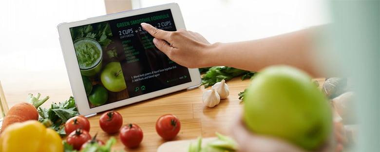 Le secteur de l'e-commerce alimentaire
