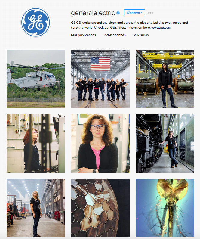 General Electric sur Instagram