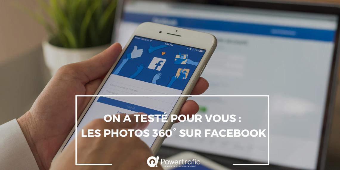 Nous avons testé les photo en 360° sur Facebook