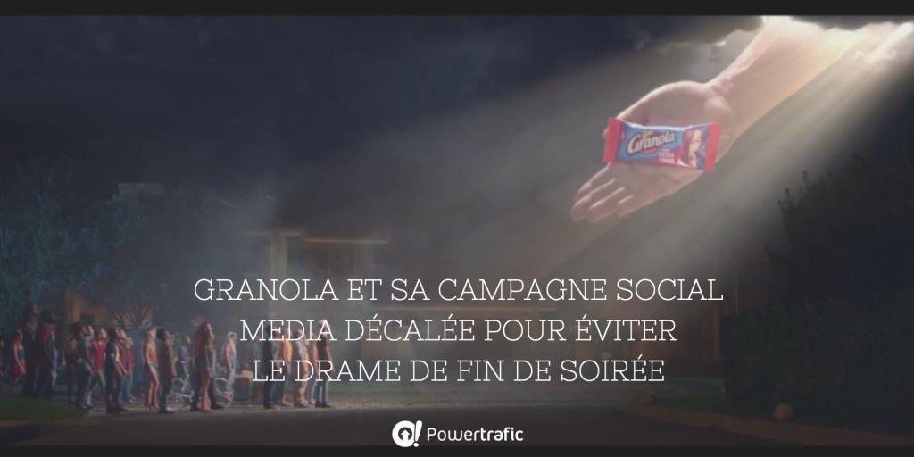 Campagne marketing de Granola