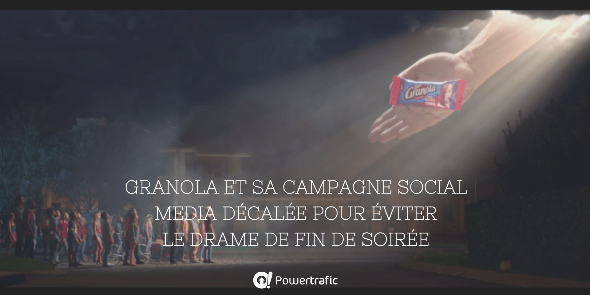 Campagne marketing de Granola