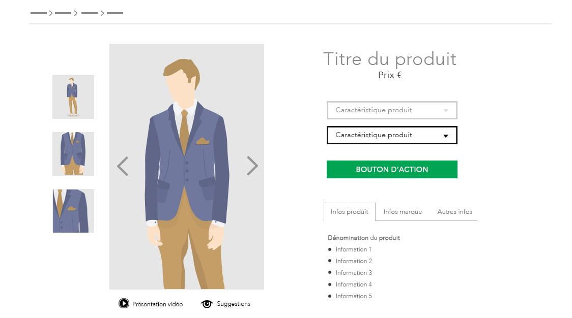 Infographie : Créer une fiche produit efficace pour son site