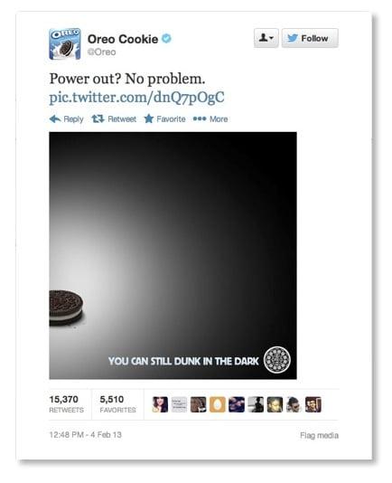 Twitter Ads tweet-oreo