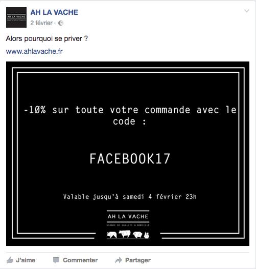 Agriculture connectée : Page Facebook Ah La Vache