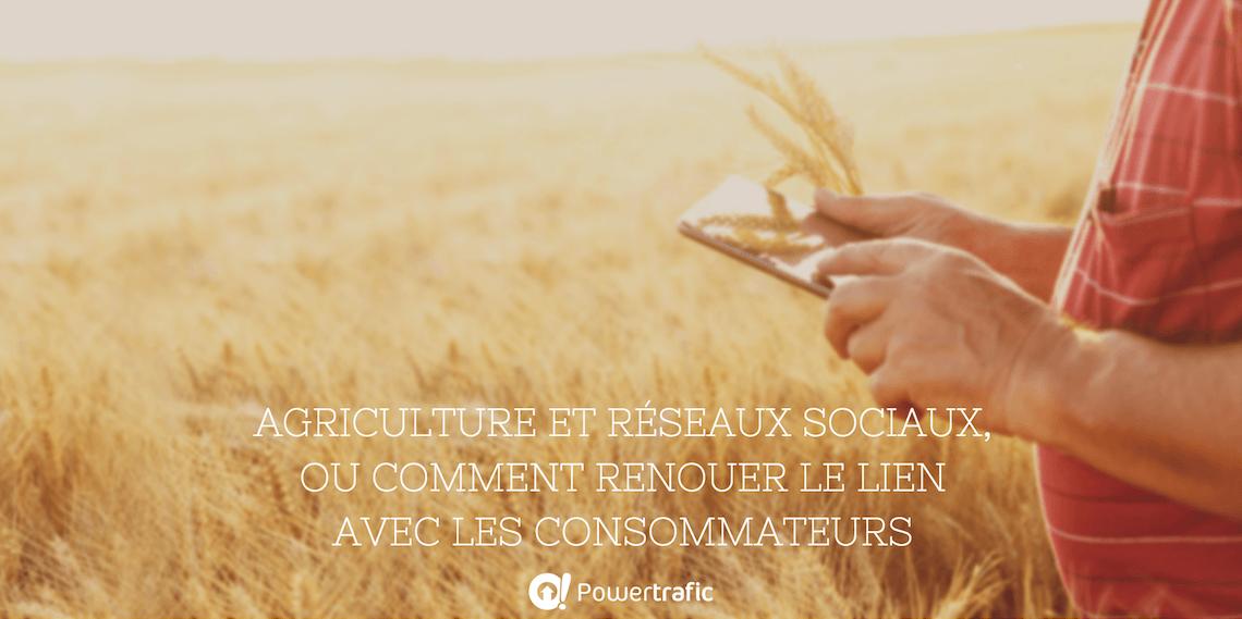 Agriculture connectée et réseaux sociaux