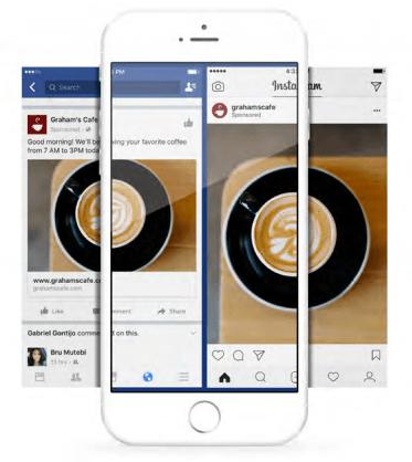 créativité des annonces sur Facebook et Instagram