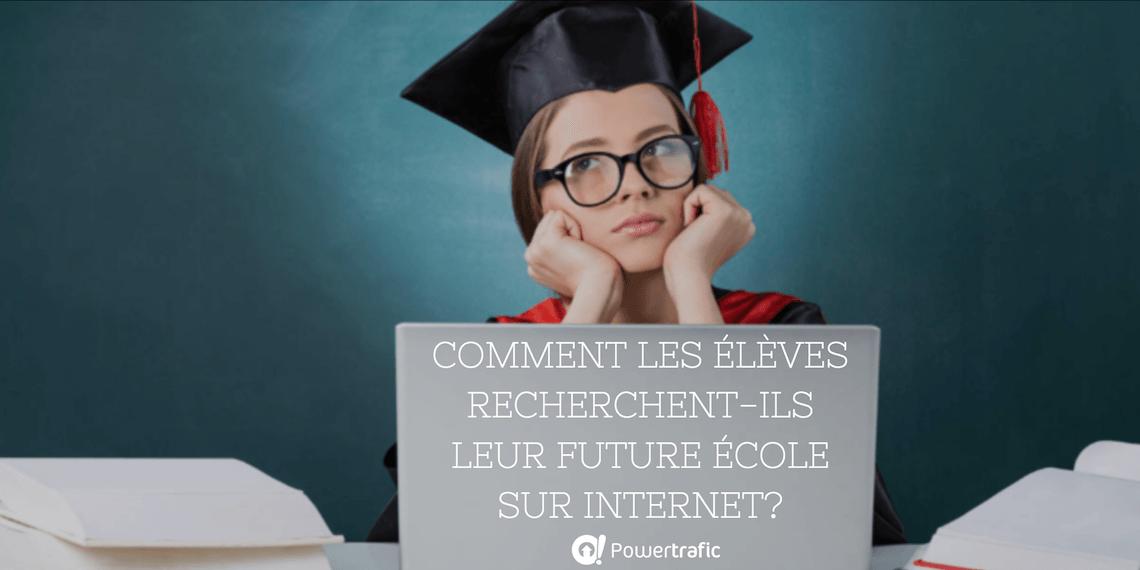 Orientation : comment les élèves recherchent-ils leur future école sur Internet ?