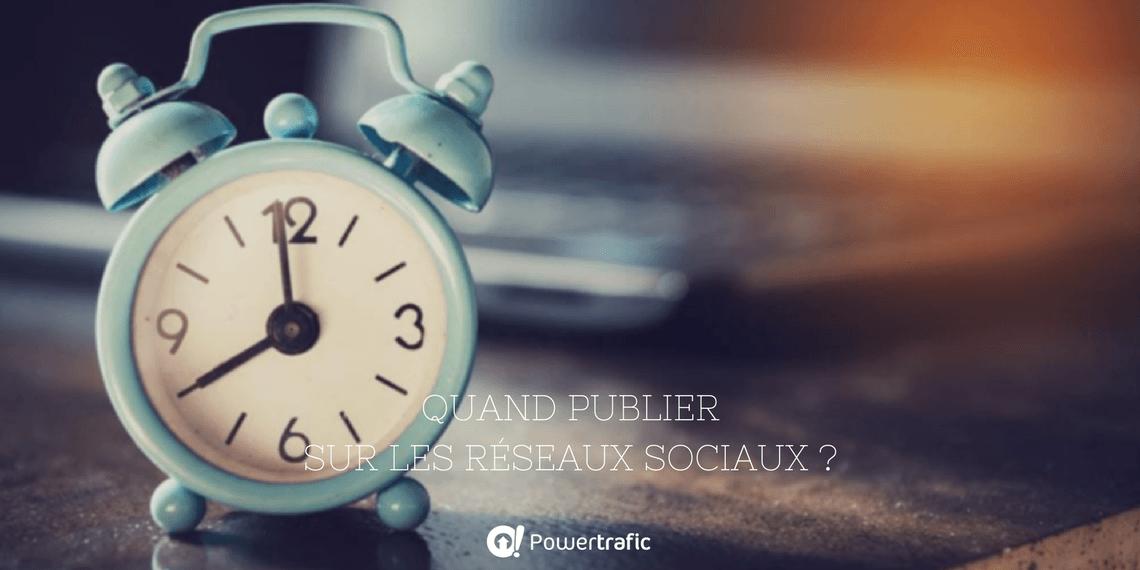 [Vidéo] Quel est le meilleur moment pour publier sur les réseaux sociaux ?
