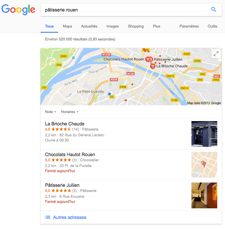 Google My Business : visibilité et SEO local