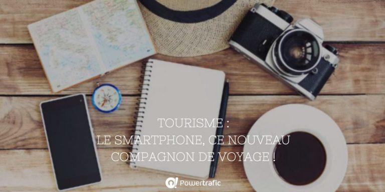 Tourisme : le smartphone, ce nouveau compagnon de voyage !