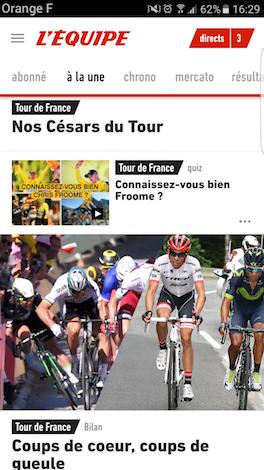 Progressive Web App : L'Équipe, 1er média français à adopter la PWA